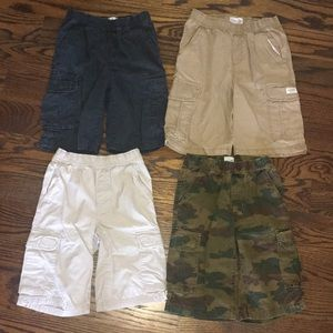Boy size 10 Children's Place Cargo Shorts Lot of 4